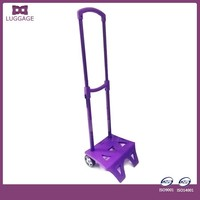Purple Kids Trolley Handle Parts Accessory For Girls School Bag