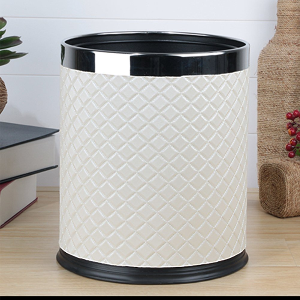 European-style household living room trash can/Kitchen bathroom trash/Creative simplicity trash-C