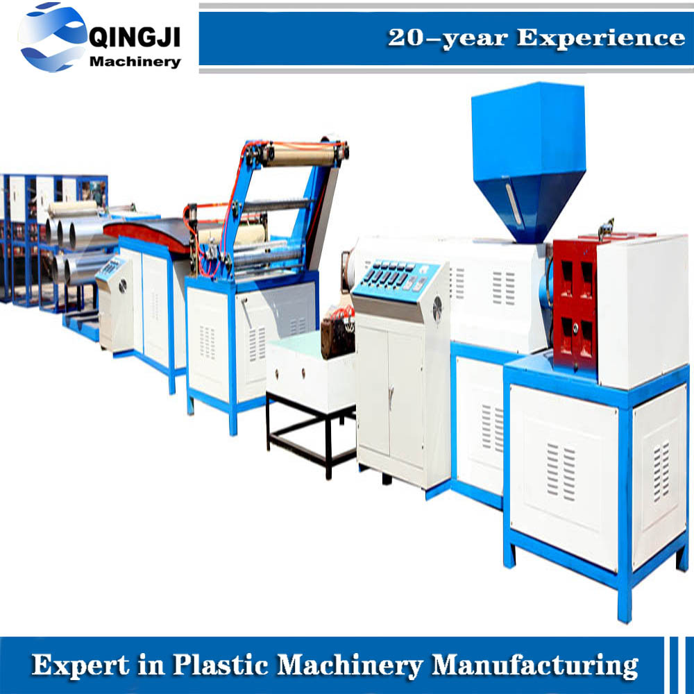 New Machine PP Split Yarn Film Machine Rope Extrusion Line/PP/PE Vertical Air-Cooled Blown