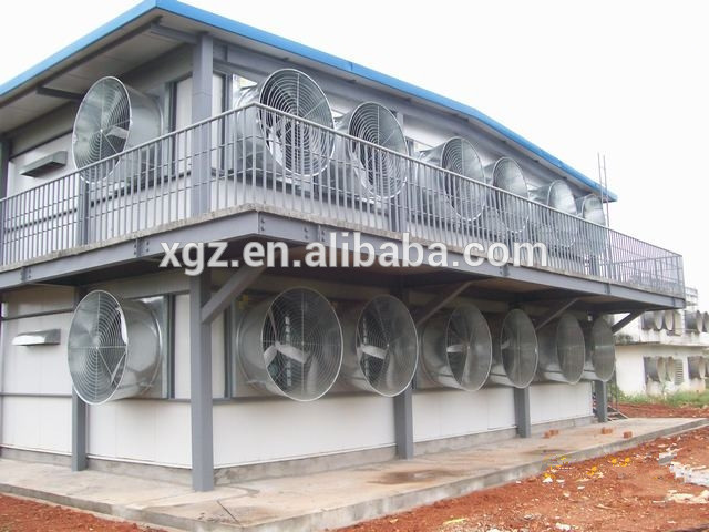 Prefab Poultry Breeder Sheds With Two Storey