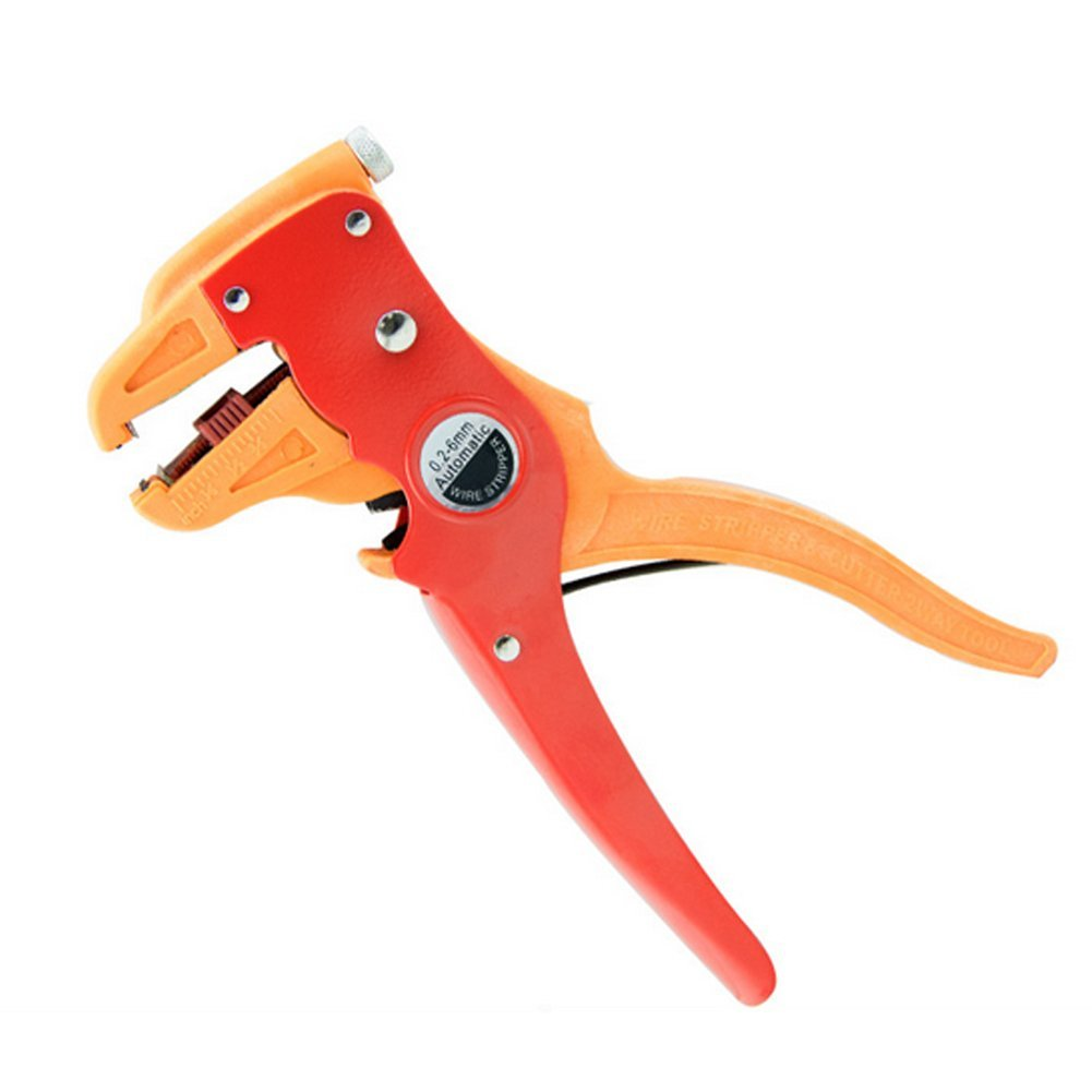 ACTLATI Strength Duckbill Pliers Cable Wire Duckbill Stripping Wire Electrician Olecranon Wire Strippers