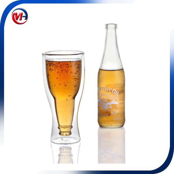 Double Wall Beer Glass / beer cup