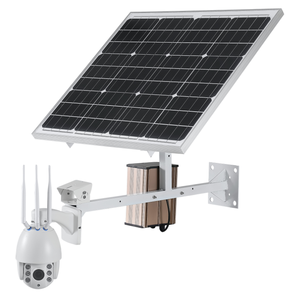 CamHi 4G 3G Sim Card Solar Panel Power System PAN TILT ZOOM 2 7-13 5  Motorized Lens CCTV Camera