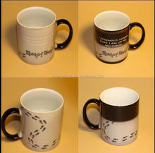 Black sublimation harry potter hot water magic color changing mug