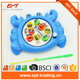 Kid's Wind Up Fishing Dish Game Toy