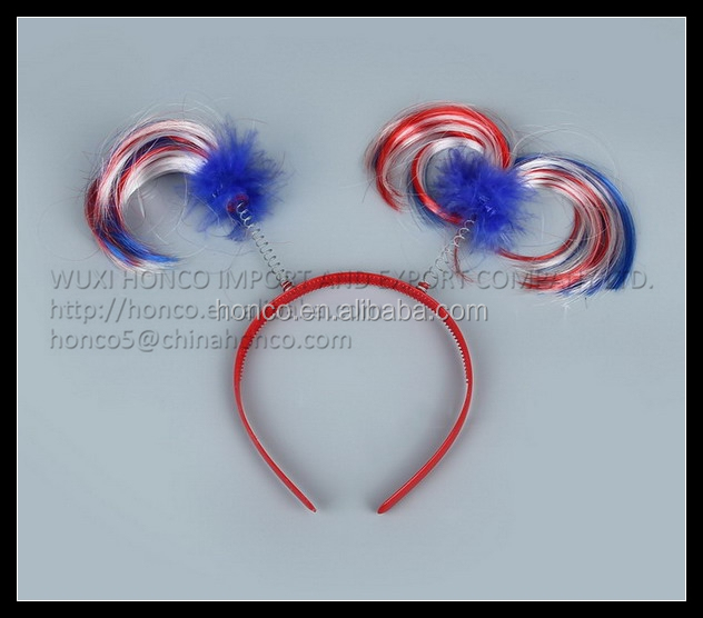 France color hair clip ornaments for Euro 2016