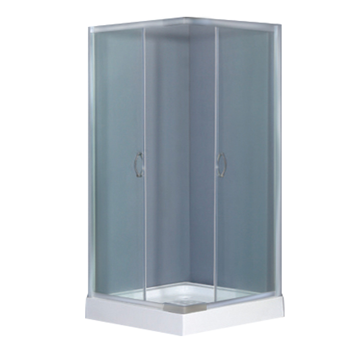 Crown Aluminium Profiles Freestanding Mini Shower Enclosure - Buy ...