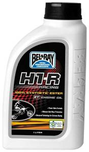 BEL-RAY H1-R RACING 100% SYNTH ESTER 2T ENGINE OIL (379 ML), Manufacturer: BEL-RAY, Manufacturer Part Number: 99280-B379W-AD, Stock Photo - Actual parts may vary.