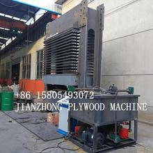 hot press machine/wood hydraulic hot press for plywood and veneer