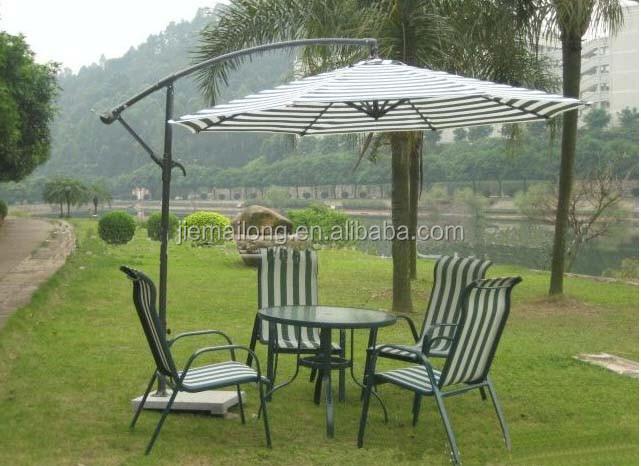 10u0027 Patio Half Umbrella Wall Balcony Sun Shade Garden Outdoor Parasol  Banana Umbrella Type Cantilever