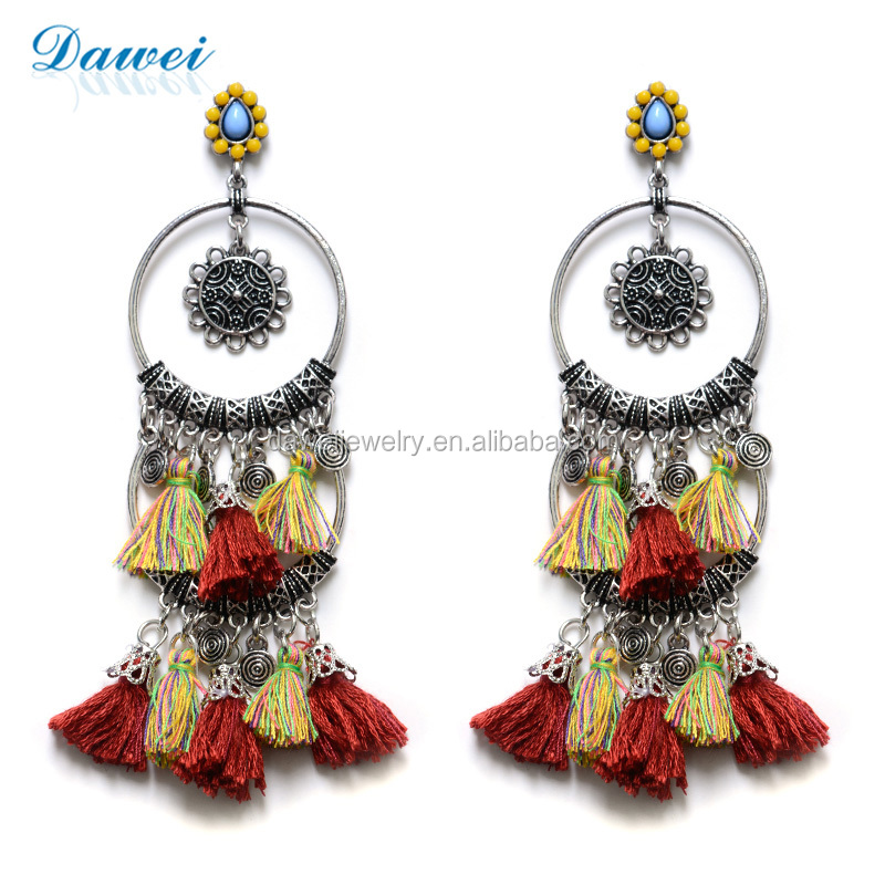 Latest Fashion Handmade Wire Korean Style Earrings For Women - Buy ...