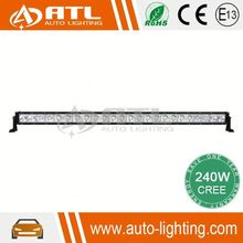 High quality new design good light pattern curve tow truck lite led headlight,120W single row LED light bar