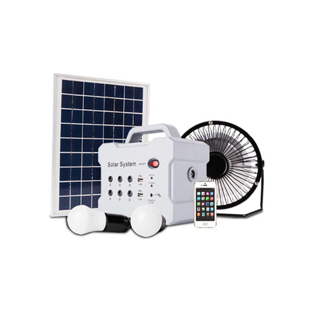 Portable wholesale mini solar smart lighting kits, solar kits with solar charging station
