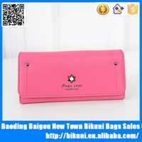 2015 branded designer card holder wholesale purse leather women wallets ladies clutch