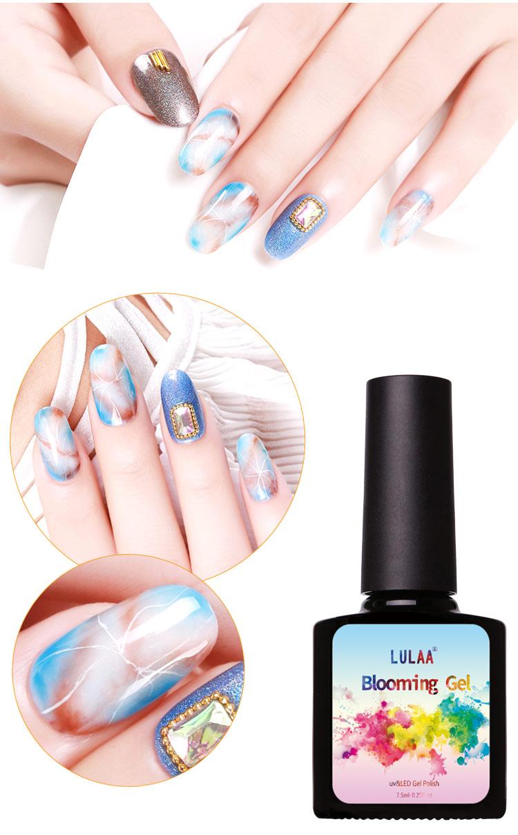 2018 Lulaa Newest 7,5ml Blossom Gel Polish Diy Nail Art Design ...