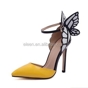 adb29ac38474 Latest High Heel Shoe With Butterfly