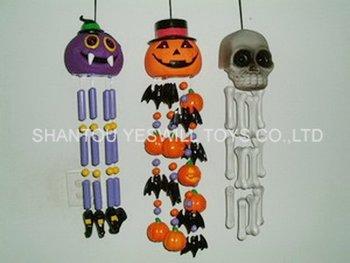 halloween wind chimes