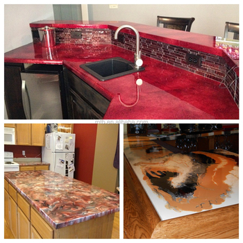 Epoxy Countertops - Buy Epoxy Countertop Coating,Metallic Epoxy Kitchen  Countertop Coating,Decorative Epoxy Concrete Countertop Coating Product on  ...