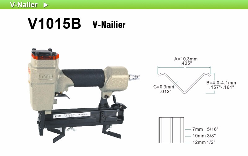 Meite V1015b Picture Photo Frame And Windows Door V Nailer V Nail