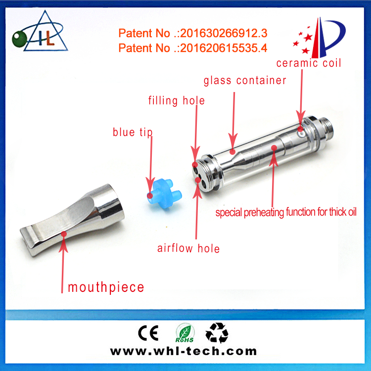 Best Vape Tanks 510 Ccell Cartridge Metal Tip Cbd Oil