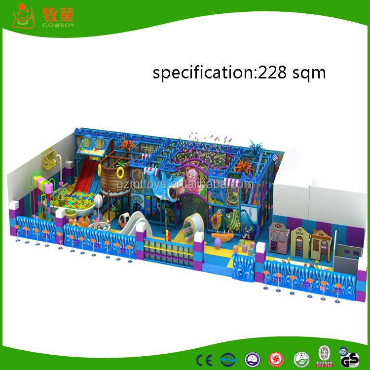ocen series supermarket commercial indoor playground planning for hot sale