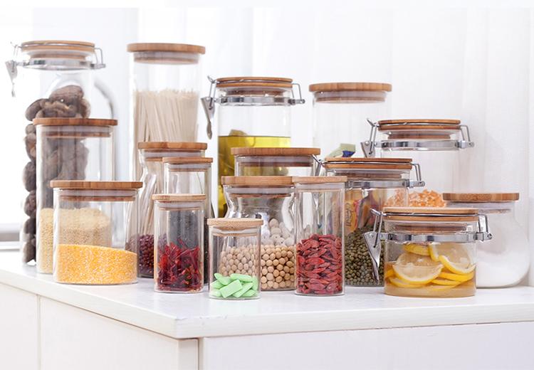 Borosilicate Glass Handmade Kitchen Storage Containers - Buy Kitchen ...