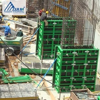 Steel concrete building formwork system panels for walls and columns GK120