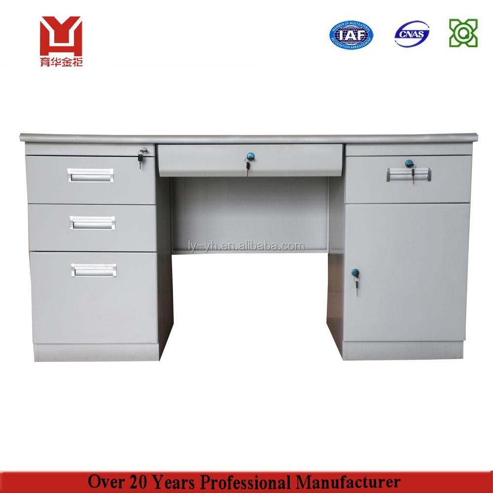 Latest steel office furniture executive steel office table design