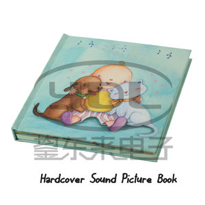 Music book/talking board books/audio book used for children learning