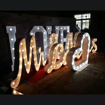 custom wedding letters love marquee signsvintage light bulb lettercustom marquee sign buy custom marquee signvintage led sign lightingmetal marquee