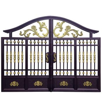 2015 High Quality Remote Control Cheap Wrought Iron Gates Garden Gate