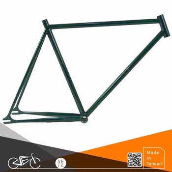 Taiwan made single speed bicycle frame chrome steel bike frame
