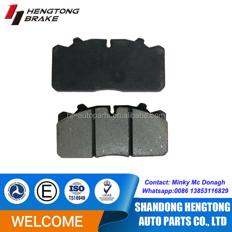 WVA29173 super quality auto brake pads for Volvo FL2 FL3 truck spare parts