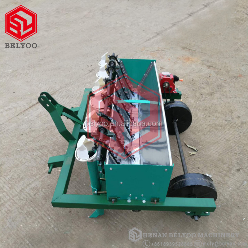 Automatic garlic planter high capacity garlic seed planting sowing machine