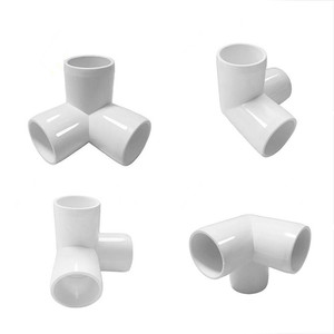 Pipe Fittings 3 Way Tee PVC