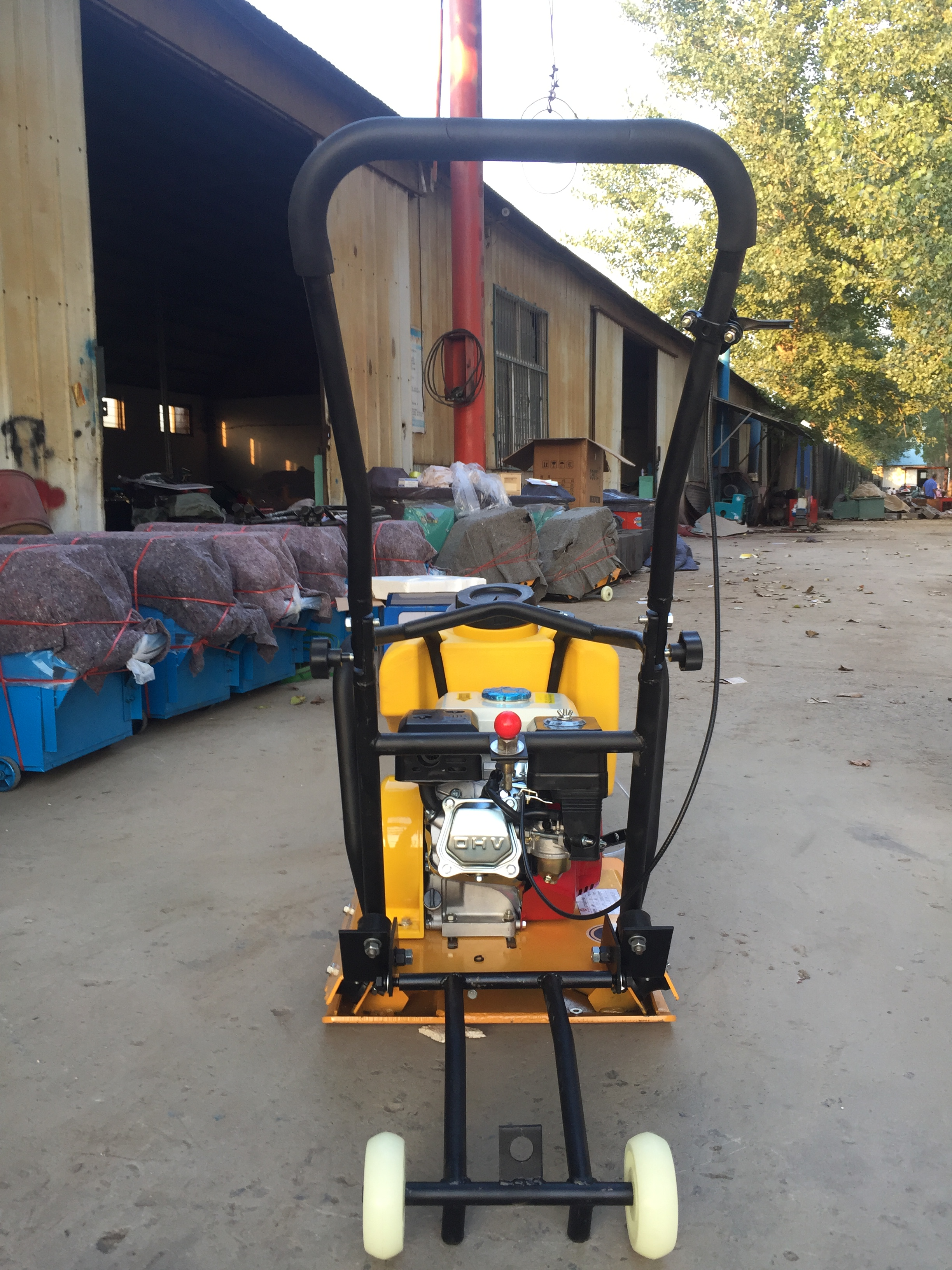 Professional Manufacturer Best Price High Speed Low Noise Used Wacker Plate  Compactor For Sale With Ce - Buy Best Price High Speed Low Noise Used
