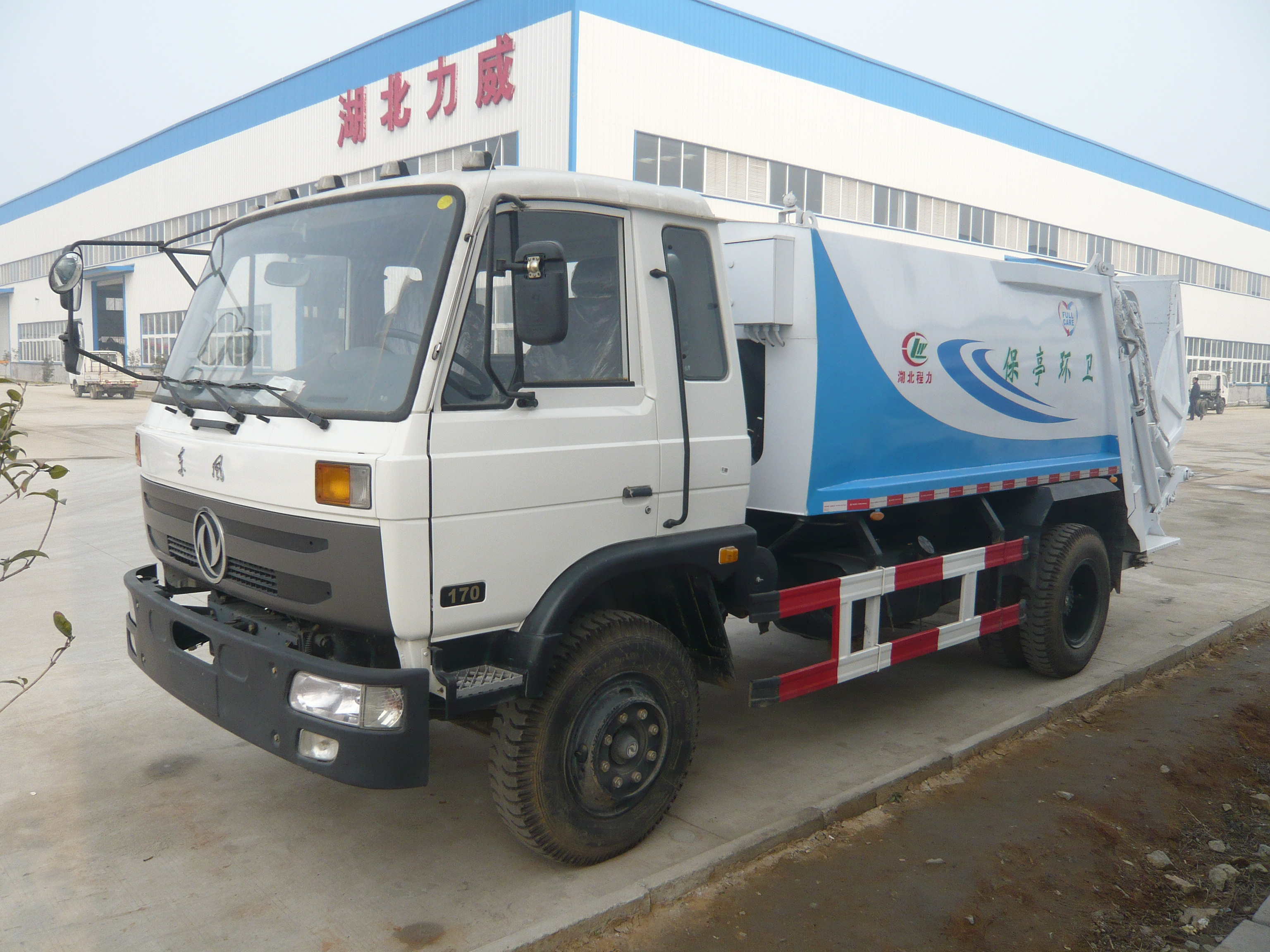China Dongfeng Garbage  Compactor Truck for Sale