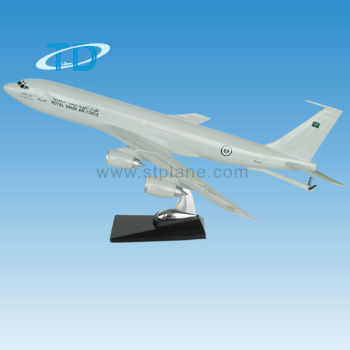B707 Rotal Saudi Air Force 1 100 Scale Model Aircraft Buy Model