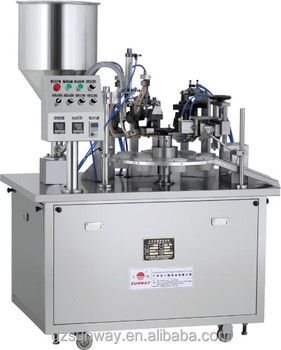 Toothpaste Tube Packaging Filling Sealing Machine