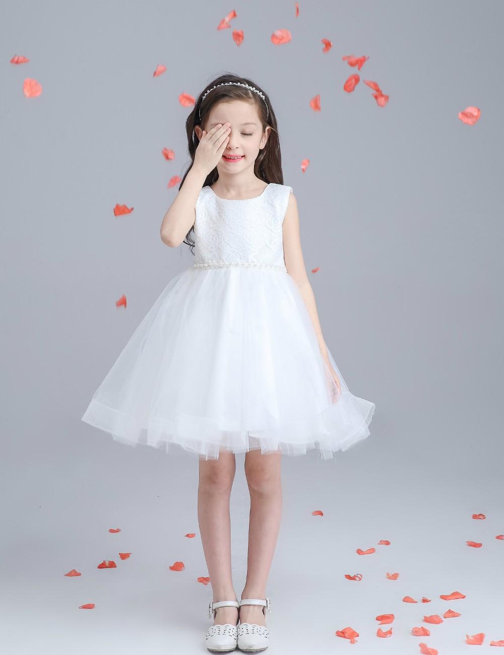 Xh0960 New 2016 Girls Summer Dress Kids Clothes Girls Party Dress ...