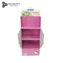 High quality cardboard display rack for toys