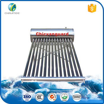 Domestic Low-pressure Solar Water Heating System For Home Without ...