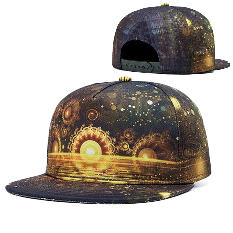 Get Quotations · Alisister new fashion women men galaxy snapback hats  Imperial crown print gorras planas summer street a3063466278d