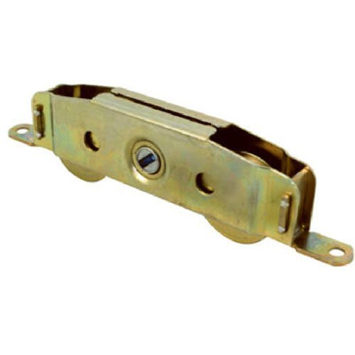 Slide-Co 13808-S Sliding Patio Door Roller Assembly, 1-1/4 in. Wheel Diameter, Steel Ball Bearing Wheels