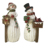 custom resin  christmas snowman figurine for decor