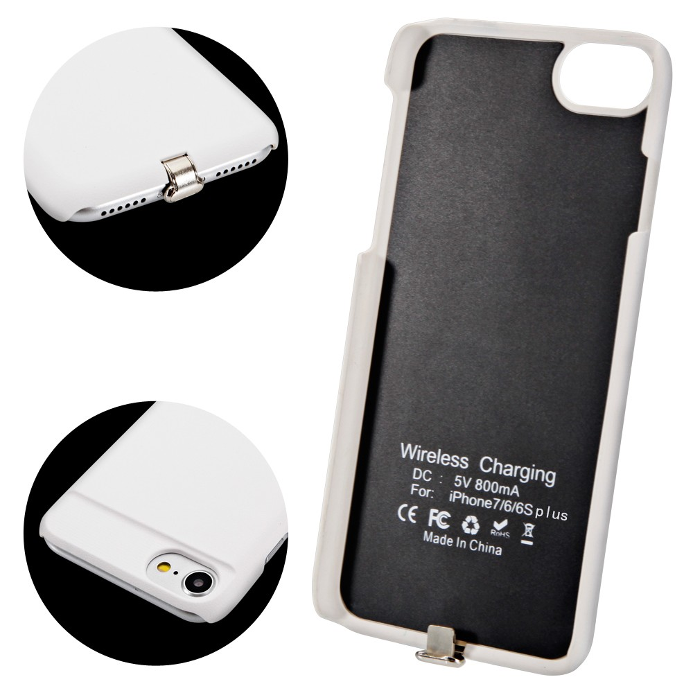 Qi Wireless Charging Receiver case cover with Flexible Connector for iPhone