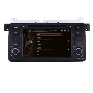 "7"" Touch Screen for BMW E46 car dvd player With 3G GPS bluetooth Radio stereo RDS USB SD Steering wheel Control Can bus Free map"