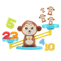 New monkeys scales math toys educational learning arithmetic addition and subtraction numbers toy for kids