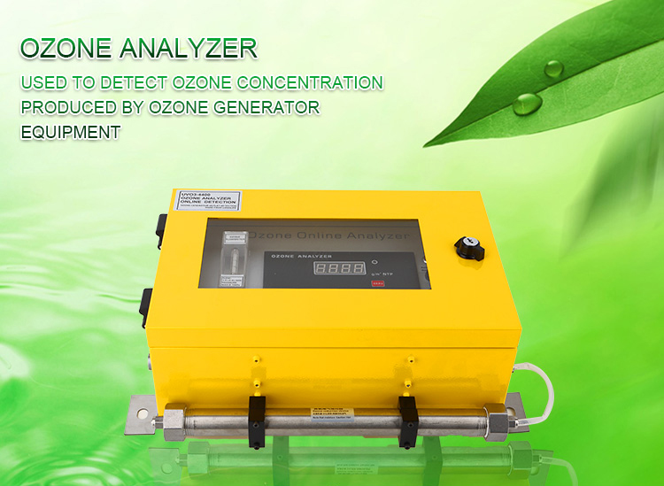 OZOTEK UV ozone analyzer 4-20mA UVO3-4400AC with RS-485 0-200mg/L