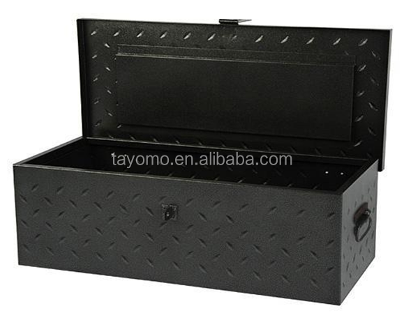 2017 Heavy Duty Black Steel Diamond Plate Truck Tool Box